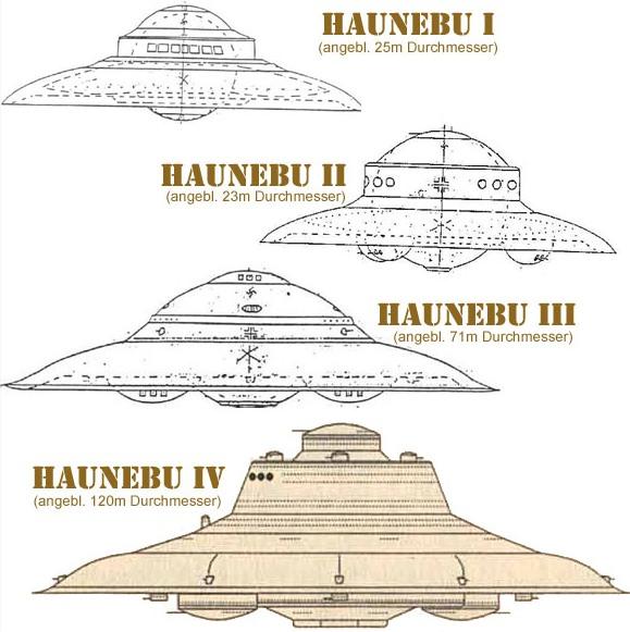 ナチスのUFO「ハウニブー」の計画書