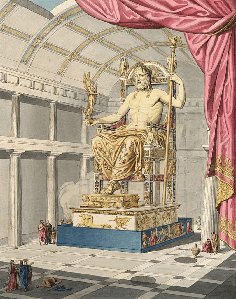 オリンピアのゼウス像とは?