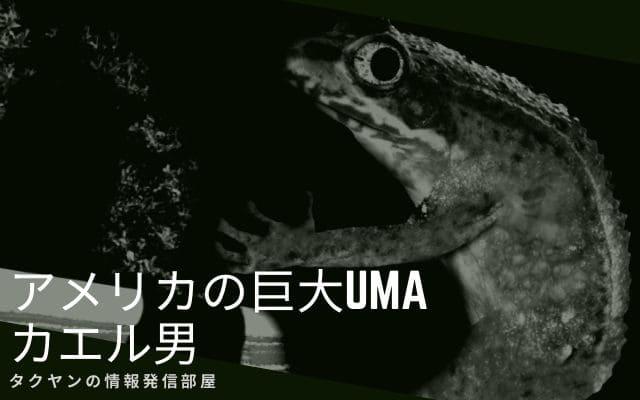 カエル男とは何なのか?